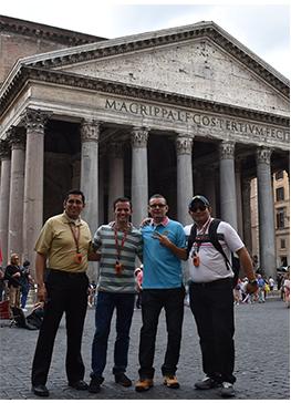 Estancia en la ciudad de Roma
